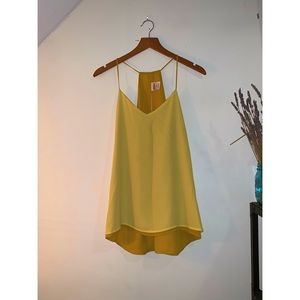 🔆 Express Reversible Yellow Cami Size S